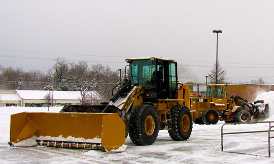 Parking Lot Snow Removal in Edmonton